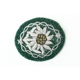 WWII German Army Mountain Troops Patch