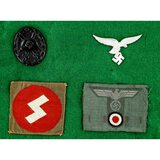 Lot of WWII German Badges & Patches