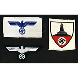 Lot of 3 WWII German Insignia