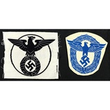 Lot of 2 German Police Patches