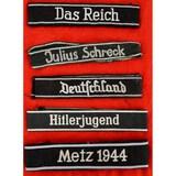 WWII German Cuff Titles (5)