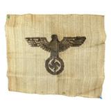 WWII German Burlap Sack Piece