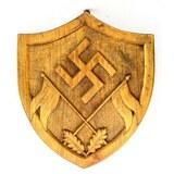 WWII German Wooden Plaque