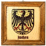 WWI German Aachen Plaque