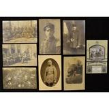 Lot of 8 WWI Era German Postcards
