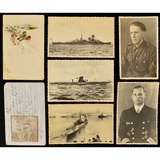 Lot of 7 WWII German Postcards