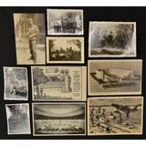 Lot of 10 WWII German Postcards & Photos