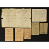 Lot of WWI German & French Soldier Books & Letters