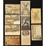 Lot of 9 WWI German Postcards