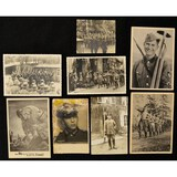 Lot of 8 WWII German Postcards