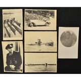 Lot of 6 WWII German Postcards