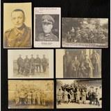 Lot of 7 WWI/WWII German Postcards