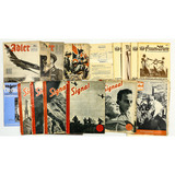 Lot of WWII German Magazines
