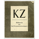 WWII German Concentration Camp Book