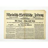 Pre-WWII German Newspaper