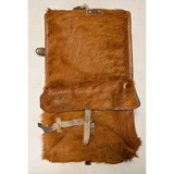 WWII Swiss Horse Fur Backpack