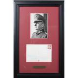 WWII Nazi Gunther Blumentritt Handwritten Postcard