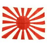 WWII Japanese Rising Sun Battle Flag