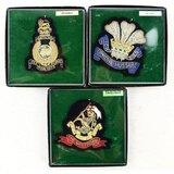 Lot of 3 Modern British Jacket Insignias