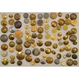 Lot of Misc. Military Uniform Buttons