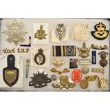 Lot of British Badges & Insignia
