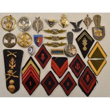 Lot of French Badges & Patches