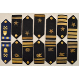 7 Pairs of WWII USN Shoulder Boards