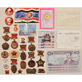Lot of Misc. Medals, Pins, Leaflets