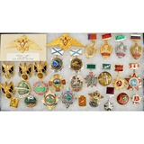 Lot of 30 Russian Federation Badges & Pins