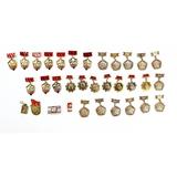 Lot of Soviet Pin Insignia