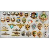 Lot of 32 Russian Badges