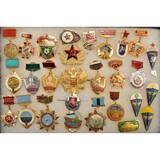 Lot of Soviet/Russian Insignia