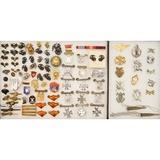 Lot of USMC & Belgian Pins