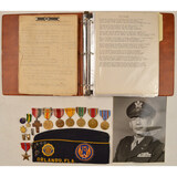 WWII USAAF Photo and Record Lot