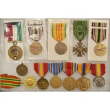Lot of Military Medals