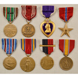 WWII US Army Medals (8)