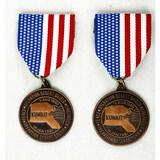 US Desert Storm Liberation of Kuwait Medals (2)