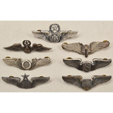 Lot of 7 US Air Force Wings