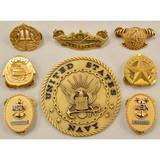 Lot of 8 US Navy Insignias