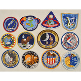 Lot of 12 Apollo Moon Mission Patches