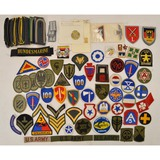 Lot of Military Patches, Shoulder Boards & Posters