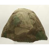 WWII German Camo Helmet Cover