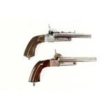 Pair of Double Barreled BP Pistols