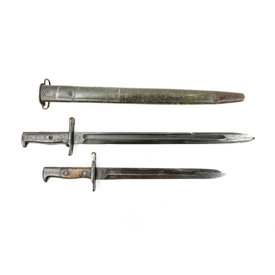 2 US Rifle Bayonets