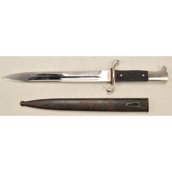 WWII German Fireman's Dress Bayonet