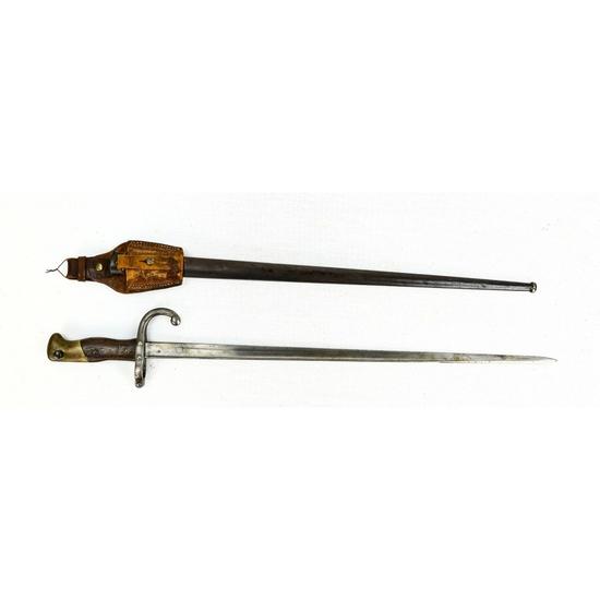 French 1874 Gras Bayonet