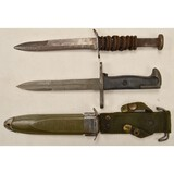 US M3 Fighting Knife & M1905E1 Bayonet