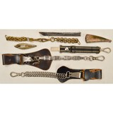 Lot of Dagger/Sword Hangers