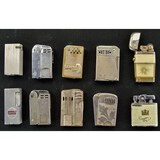 Lot of 10 Misc. Lighters