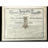 GAR Transfer Certificate